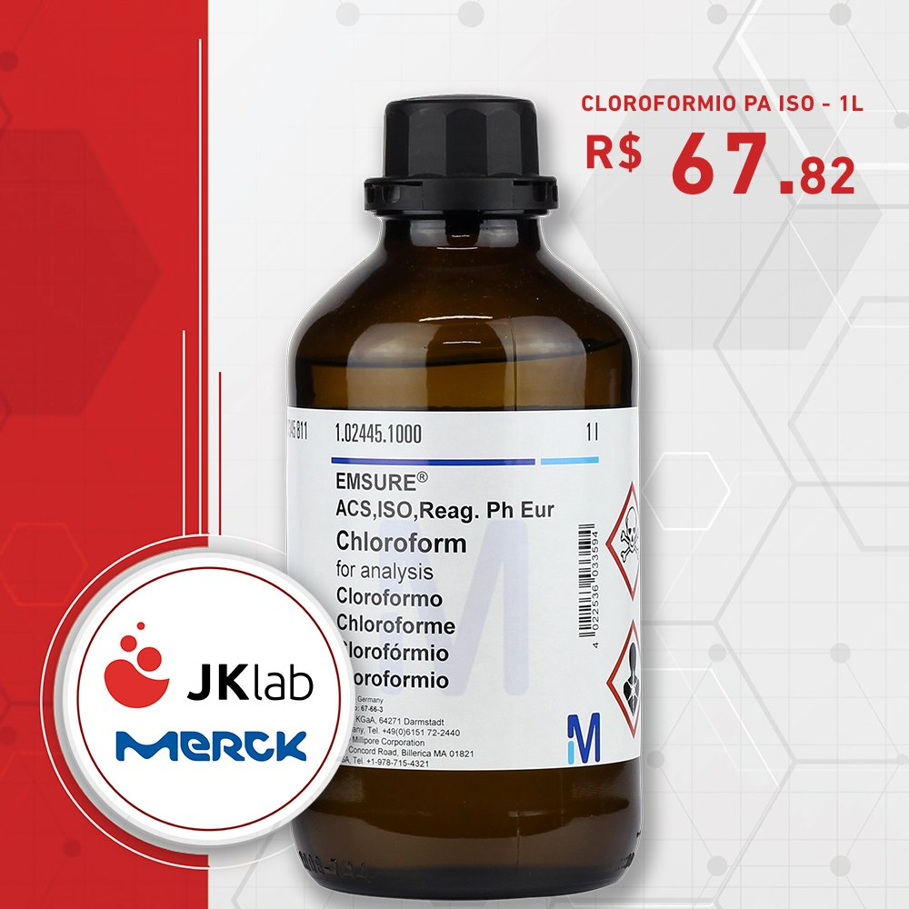 CLOROFORMIO PA ISO - 1L - JKlab